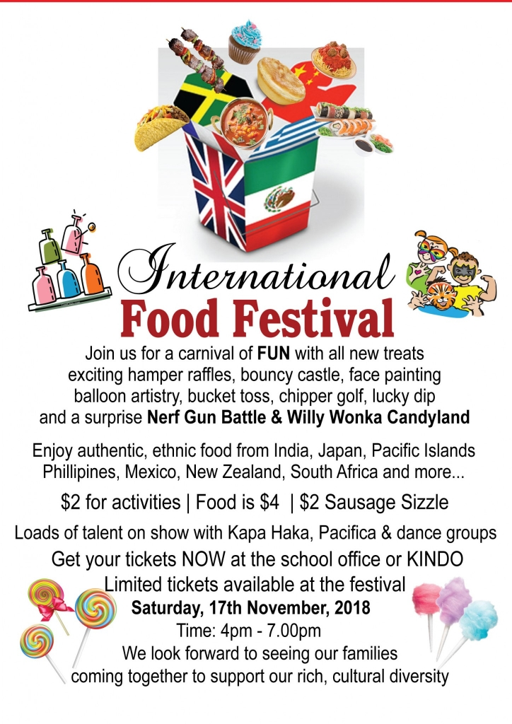 IFF internal A5 flyer for newsletter and families